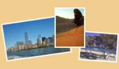 Startseite Urlaubstagebücher Bild01 - Skyline New York, Sand der Namib, Strand von Antiparos