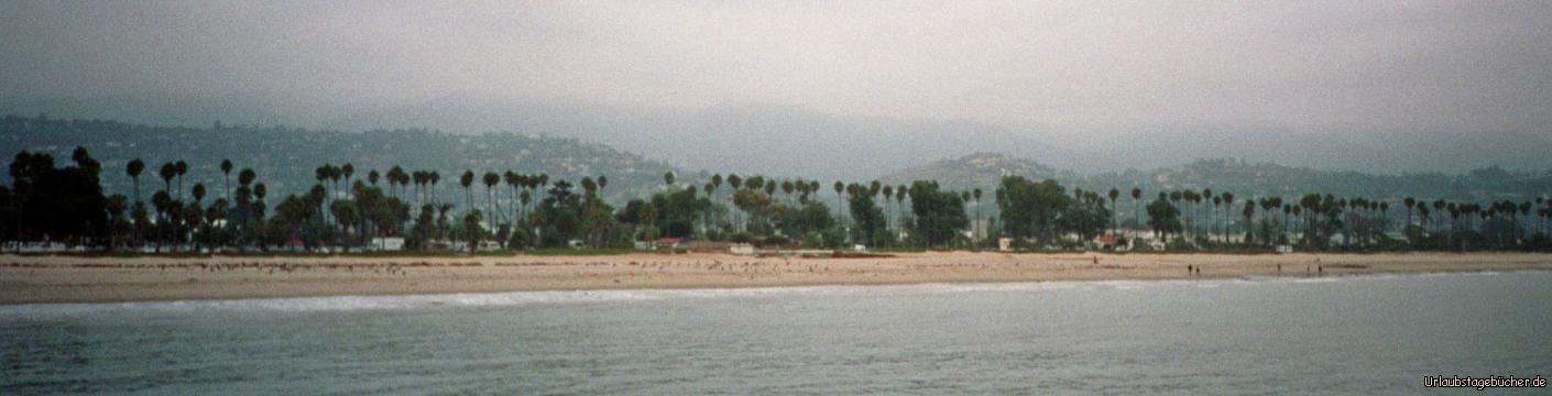 Strand von Santa Barbara: der Strand von Santa Barbara