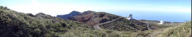 Zufahrt zum Roque de los Muchachos: Zufahrt zum Roque de los Muchachos