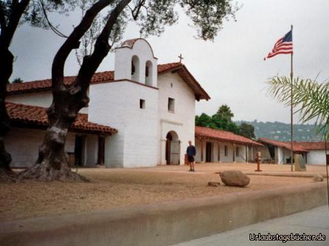 El Presidio: ich vor dem El Presidio in Santa Barbara
