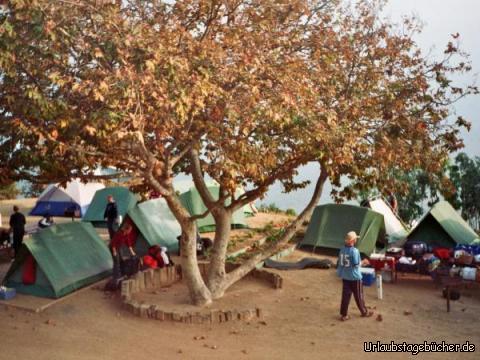 unser Zeltplatz: unser Zeltplatz am Malibu Beach