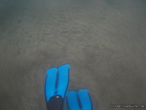 Im Wasser bei Gran Tarajal : Im Wasser bei Gran Tarajal