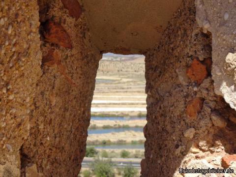 Blick von der Burg Castro Marim: Blick von der Burg Castro Marim
