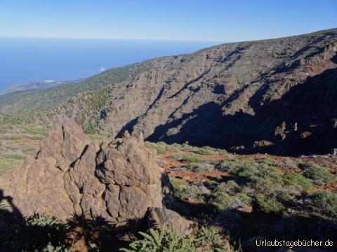 Beeindruckende Landschaft am Roque de Los Muchachos: Beeindruckende Landschaft am Roque de Los Muchachos