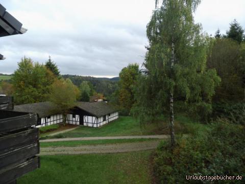 Ausblick vom Hotel Grafenwald: Ausblick vom Hotel Grafenwald