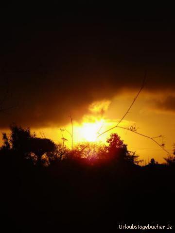 Sonnenuntergang in Puntagorda: Sonnenuntergang in Puntagorda