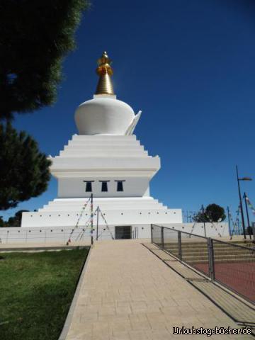 Stupa - Der Tempel in Benálmadena: Stupa - Der Tempel in Benálmadena