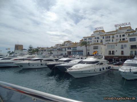 Hafen in Puerto Banus : Hafen in Puerto Banus