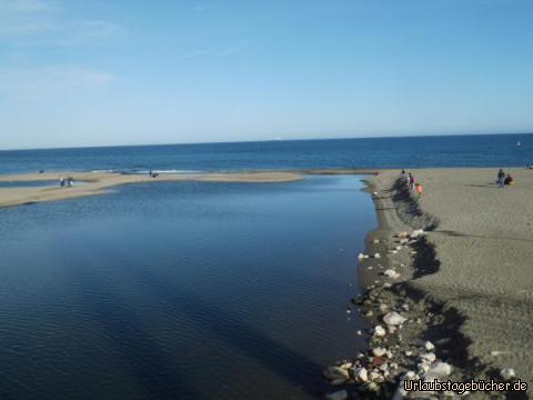 Flußmündung bei Fuengirola: Flußmündung bei Fuengirola