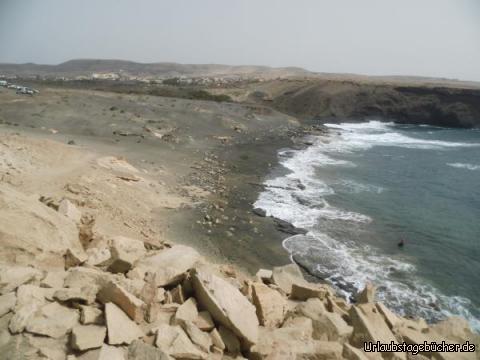 Weg am Punta Guadelupe: Weg am Punta Guadelupe