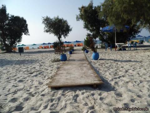 Strandpromenade Mastihari: Strandpromenade Mastihari