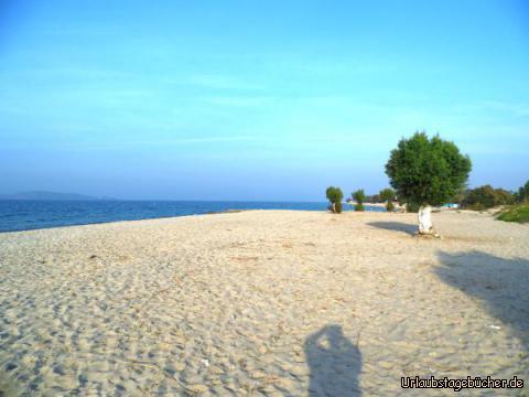 Strandspaziergang Marmari: Strandspaziergang Marmari