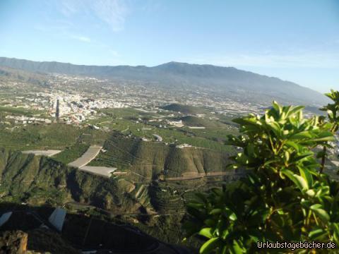 Fantastische Aussicht am Mirador El Time : Fantastische Aussicht am Mirador El Time
