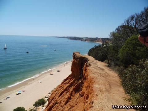 Schwindelfrei an der Praia de Falasia: Schwindelfrei an der Praia de Falasia