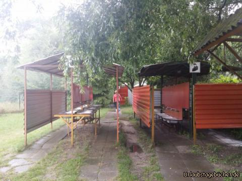 Campingplatz, rustikal :