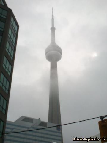 CN Tower: der 553 Meter hohe CN Tower ist nicht nur das Wahrzeichen von Toronto, sondern war auch von 1975 bis 2009 der höchste Fernsehturm der Welt