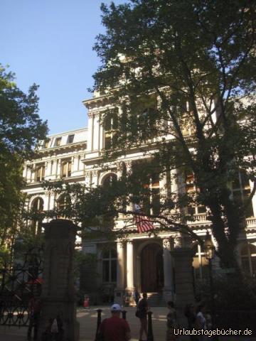 Old City Hall: die Old City Hall am Freedom Trail in Boston war, seit der Fertigstellung 1865 bis 1969, Sitz der Stadtverwaltung
