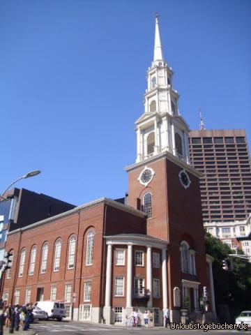 Park Street Church: die 66 m hohe Park Street Church stammt aus dem Jahr 1809