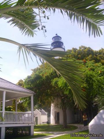 Key West lighthouse: das seit seiner Fertigstellung 1825 mehrfach durch Hurrikans zerstörte Key West lighthouse ist heute 22 m hoch (und seit 1969 ein Museum)