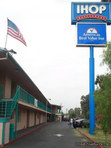 Americas Best Value Inn: unser Hotel in El Cajon bei San Diego, Kalifornien